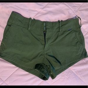 Hurley Olive shorts